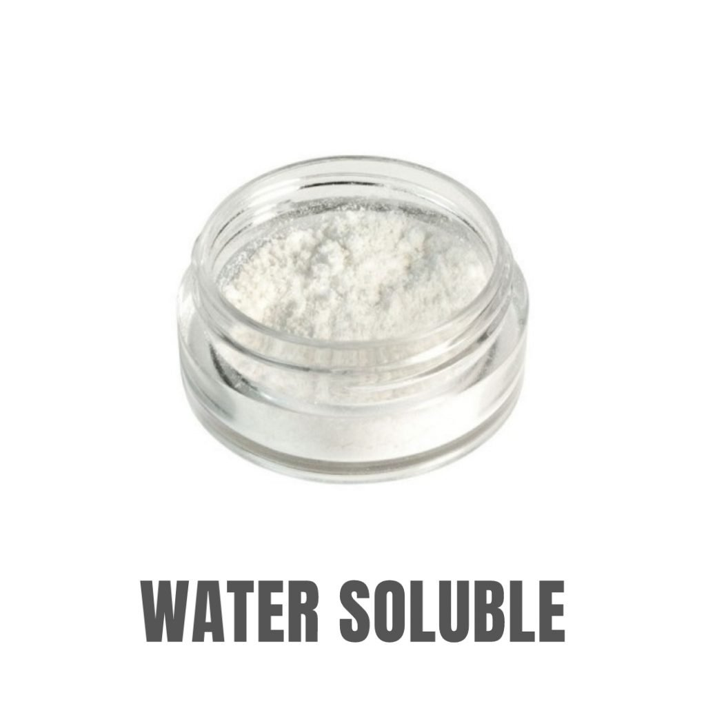 water soluble