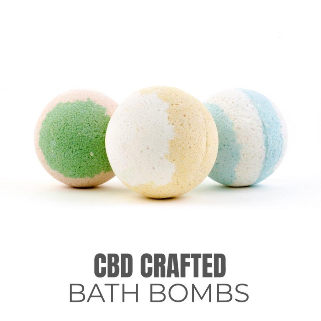 CBD BATH BOMBS